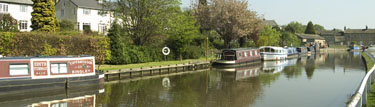 canal moorings at Five Rise Boat Club